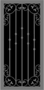 Esplanade | Hand Forged Series | Steel Shield Security Doors & More | Arizona Security Doors