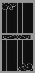 Lagrada | Hand Forged Series | Steel Shield Security Doors & More | Arizona Security Doors