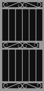 Lisbon | Hand Forged Series | Steel Shield Security Doors & More | Arizona Security Doors