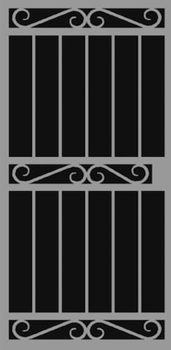 Lisbon | Hand Forged Series | Steel Shield Security Doors & More | Arizona Security Doors