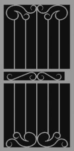 Palazzo | Hand Forged Series | Steel Shield Security Doors & More | Arizona Security Doors