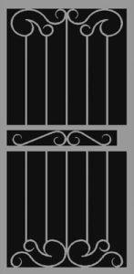 Palazzo   Hand Forged Series   Steel Shield Security Doors & More   Arizona Security Doors