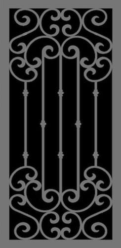 Pavoratti | Hand Forged Series | Steel Shield Security Doors & More | Arizona Security Doors