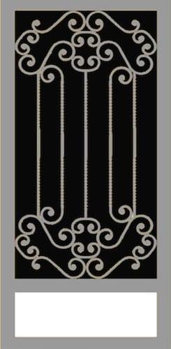 Romano   Hand Forged Series   Steel Shield Security Doors & More   Arizona Security Doors