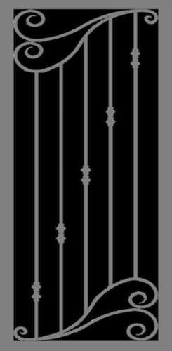 Siena | Hand Forged Series | Steel Shield Security Doors & More | Arizona Security Doors