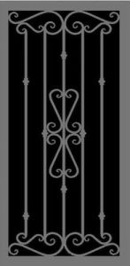 Venetian | Hand Forged Series | Steel Shield Security Doors & More | Arizona Security Doors