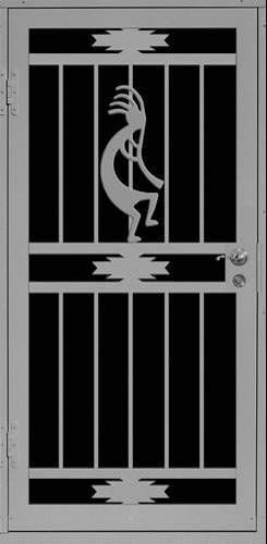 Arapaho-Kokopelli Security Door | Premier Series | Steel Shield Security Doors & More | Arizona Security Doors