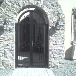 Arched Gate | Horizontal Gate | Steel Security Doors & More | Arizona Security Doors & Gates