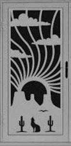Calling Security Door | Laser Series | Steel Shield Security Doors & More | Arizona Security Doors