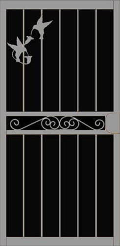 Capistrano Security Door | Classic Series | Steel Shield Security Doors & More | Arizona Security Doors