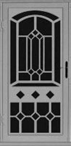 Carlton Security Door | Laser Series | Steel Shield Security Doors & More | Arizona Security Doors