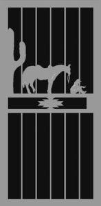 Country Evening | Premier Series | Steel Shield Security Doors & More | Arizona Security Doors