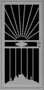 Desert Evening   Premier Series   Steel Shield Security Doors & More   Arizona Security Doors