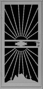 Desert View   Premier Series   Steel Shield Security Doors & More   Arizona Security Doors