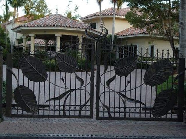 Driveway Gates Double Gates Steel Shield Security