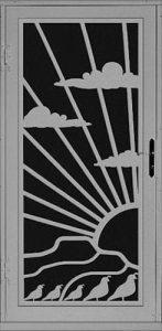 Durango Security Door | Laser Series | Steel Shield Security Doors & More | Arizona Security Doors