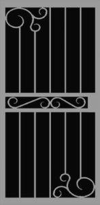 Evora Security Door | Classic Series | Steel Shield Security Doors & More | Arizona Security Doors