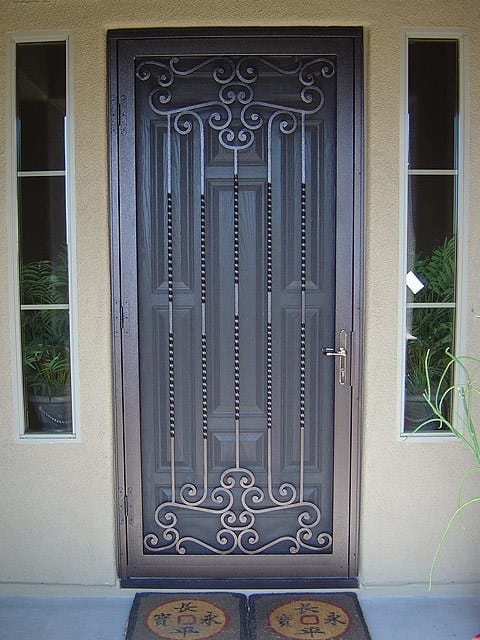 Steel Security Doors : Security doors galleries steel shield