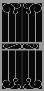 Gela | Premier Series | Steel Shield Security Doors & More | Arizona Security Doors