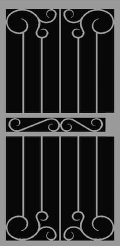 Gela Security Door | Hand Forged Series | Steel Shield Security Doors & More | Arizona Security Doors