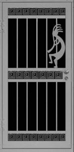 Kokopelli | Premier Series | Steel Shield Security Doors & More | Arizona Security Doors