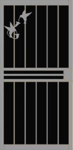 Love Birds Security Door | Classic Series | Steel Shield Security Doors & More | Arizona Security Doors