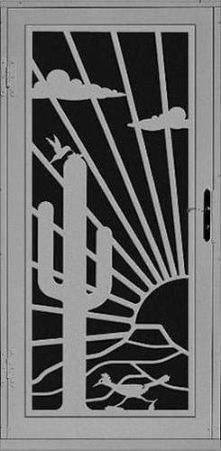 Marana Security Door | Laser Series | Steel Shield Security Doors & More | Arizona Security Doors