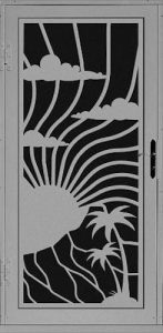 Maui Security Door | Laser Series | Steel Shield Security Doors & More | Arizona Security Doors