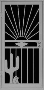 Nogales Sunset | Premier Series | Steel Shield Security Doors & More | Arizona Security Doors