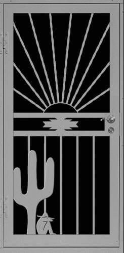 Nogales Sunset Security Door | Premier Series | Steel Shield Security Doors & More | Arizona Security Doors