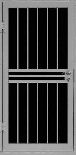 Plain Bar Security Door | Classic Series | Steel Shield Security Doors & More | Arizona Security Doors