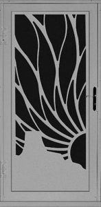Plateau Security Door   Laser Series   Steel Shield Security Doors & More   Arizona Security Doors