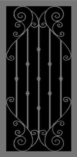 Principessa | Hand Forged Series | Steel Shield Security Doors & More | Arizona Security Doors