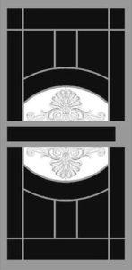 Reflections Security Door | Classic Series | Steel Shield Security Doors & More | Arizona Security Doors