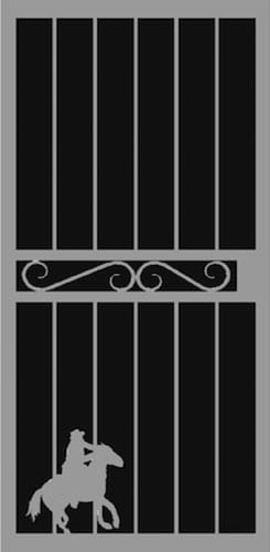 Romano Security Door | Hand Forged Series | Steel Shield Security Doors & More | Arizona Security Doors