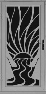 Rio Security Door   Laser Series   Steel Shield Security Doors & More   Arizona Security Doors