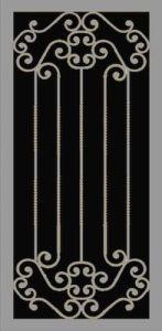 Romano II Security Door | Estate Series | Steel Shield Security Doors & More | Arizona Security Doors