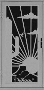 Saguaro Security Door   Laser Series   Steel Shield Security Doors & More   Arizona Security Doors