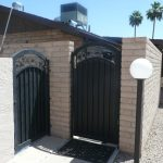 Single Gate | Vertical Gate | Steel Security Doors & More | Arizona Security Doors & Gates