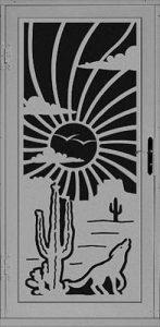 Solitude Security Door   Laser Series   Steel Shield Security Doors & More   Arizona Security Doors