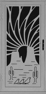 Trio Security Door   Laser Series   Steel Shield Security Doors & More   Arizona Security Doors