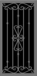 Venetian Security Door | Estate Series | Steel Shield Security Doors & More | Arizona Security Doors