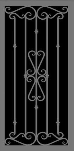 Venetian Security Door | Hand Forged Series | Steel Shield Security Doors & More | Arizona Security Doors