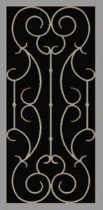 Vigo II Security Door | Estate Series | Steel Shield Security Doors & More | Arizona Security Doors