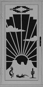 Westward Security Door   Laser Series   Steel Shield Security Doors & More   Arizona Security Doors