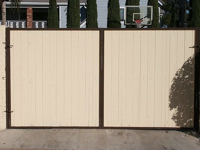 Wood Gate | Horizontal Gate | Steel Security Doors \u0026 More | Arizona Security Doors \u0026 & Wood Gates | Gates | Steel Shield Security Doors \u0026 More