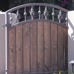 Wood Gate | Vertical Gate | Steel Security Doors & More | Arizona Security Doors & Gates