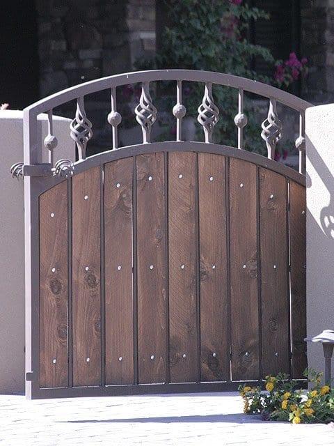 Wood Gates Gates Steel Shield Security Doors More