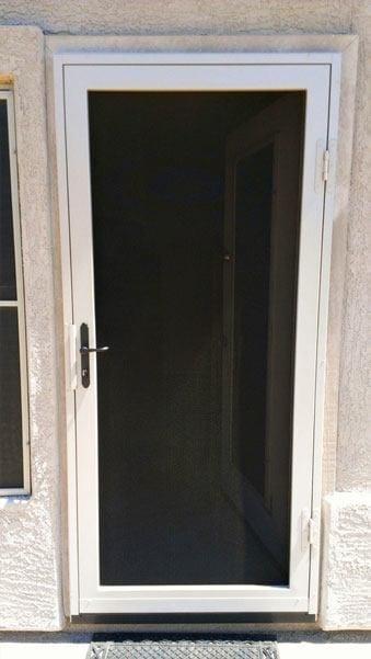 Home steel shield security doors more for All glass storm door