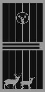 Buck & Doe Security Door | Classic Series | Steel Shield Security Doors & More | Arizona Security Doors